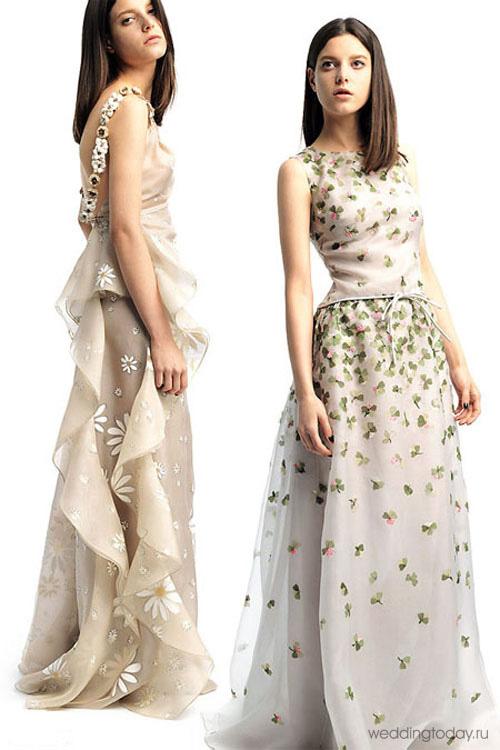 Фото коротких свадебных платьев valentino