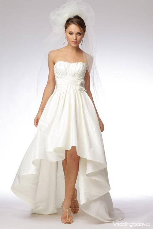 Платье свадебное футляр 175