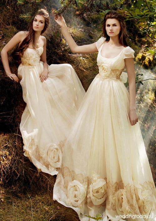 модные блузки гипюр осень 2011