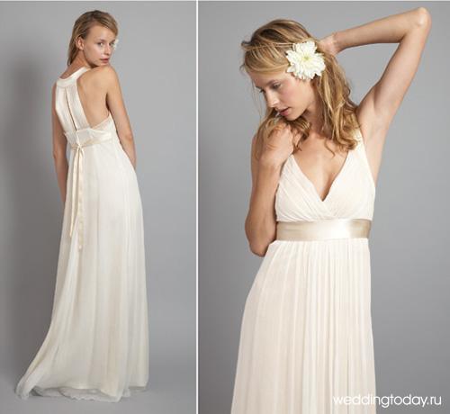 Платья подойдут для летней свадьбы в