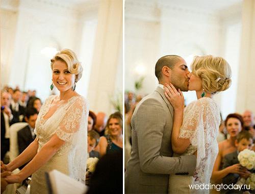 и красивых невест в свадебных платьях