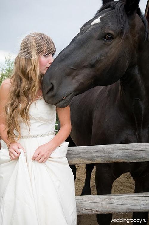 фото невест в кружевном белье