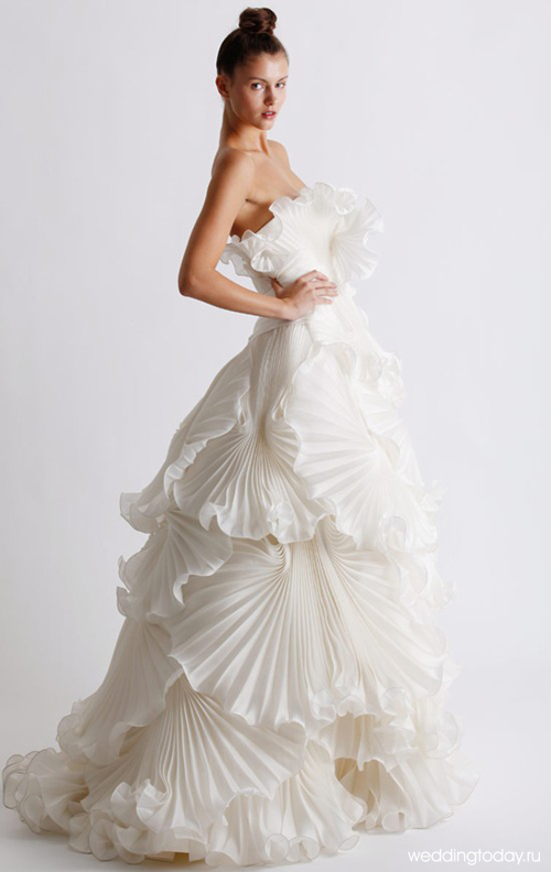 Ориганальные свадебные платья