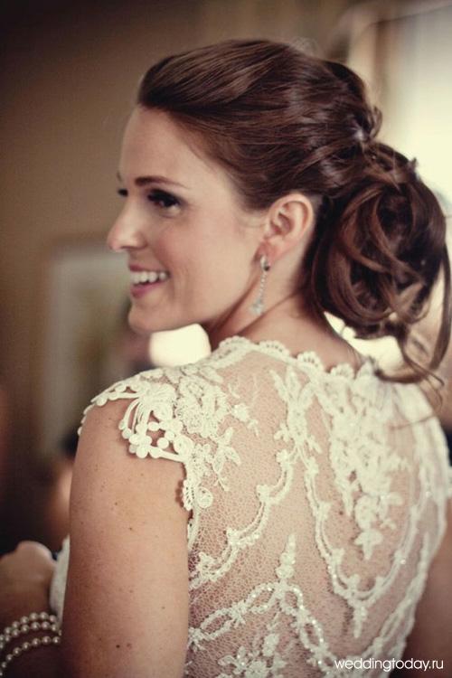 свадебные платья кружевные.