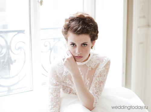 Свадебные прически с косами идеально