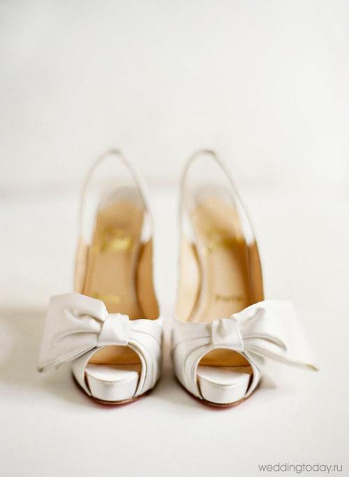 Белые туфли на свадьбу | Weddingtoday.ru