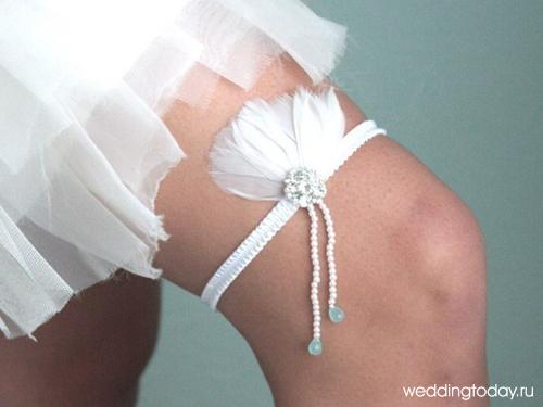 Подвязка своим руками