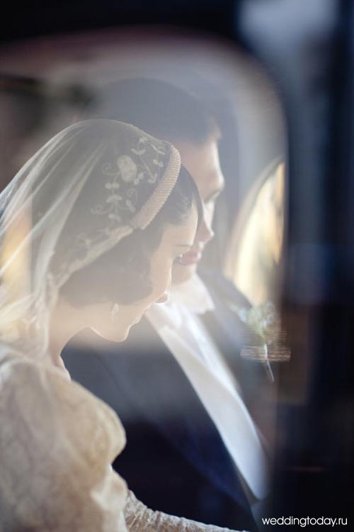 Свадебное платье в стиле ретро фото.