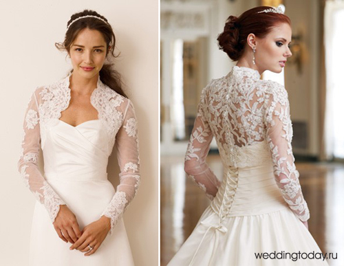 Свадьбе платья с рукавом