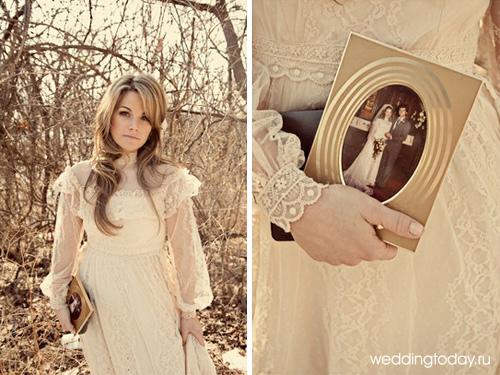Описание свадебные платья в стиле