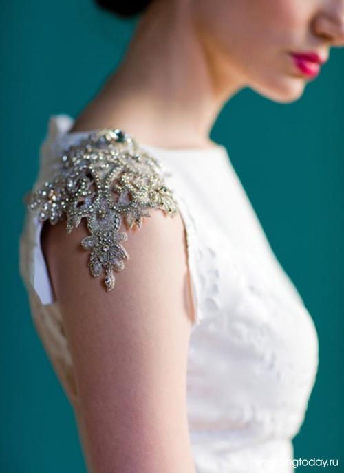 Декор платьев своими руками фото