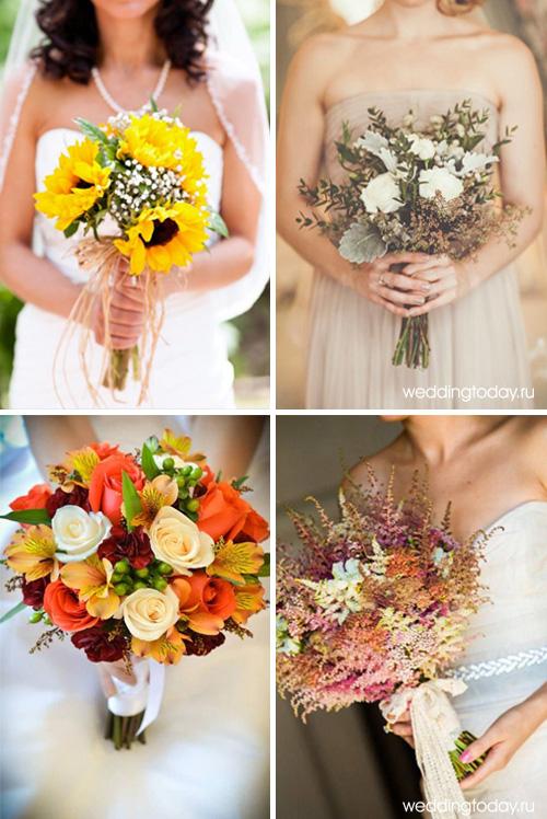 Оформление для осенней свадьбы
