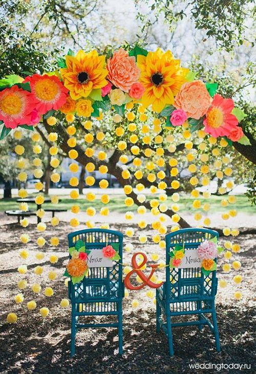 oformlenie-svadby-bumazhnymi-cvetami-1