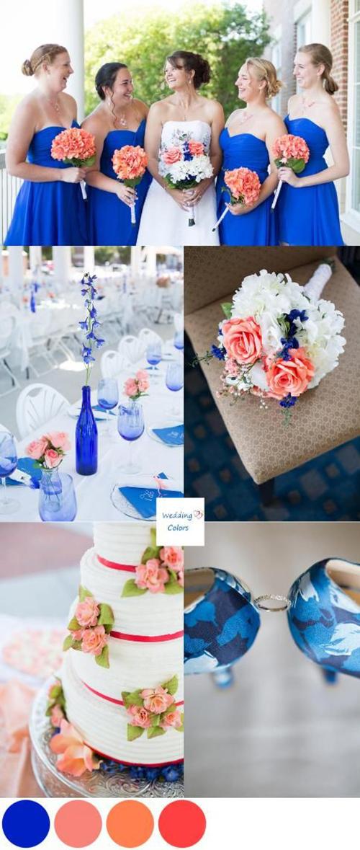 видео свадьбы в сине белых тонах