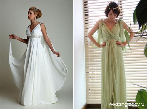 Платье в греческом стиле сшить сам