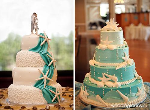 Оформление свадебного торта фото