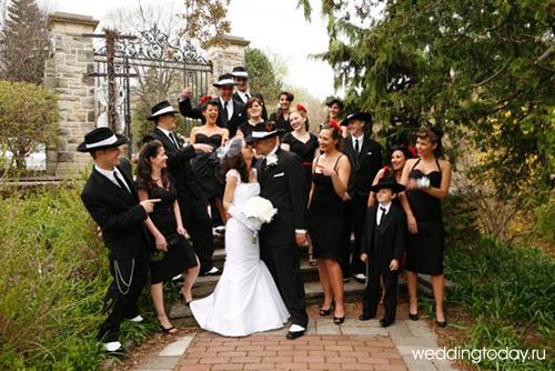 Свадьба в стиле чикаго фото