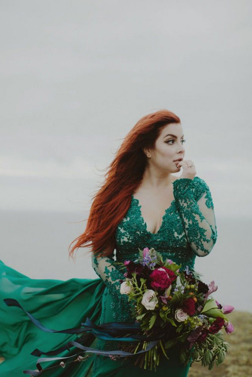 green-wedding-dresses