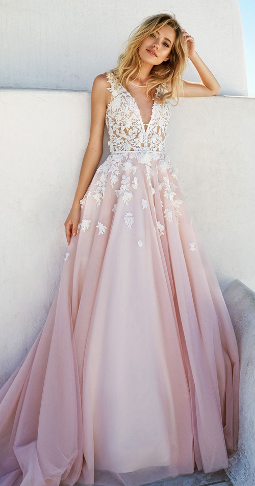pink-wedding-dresses