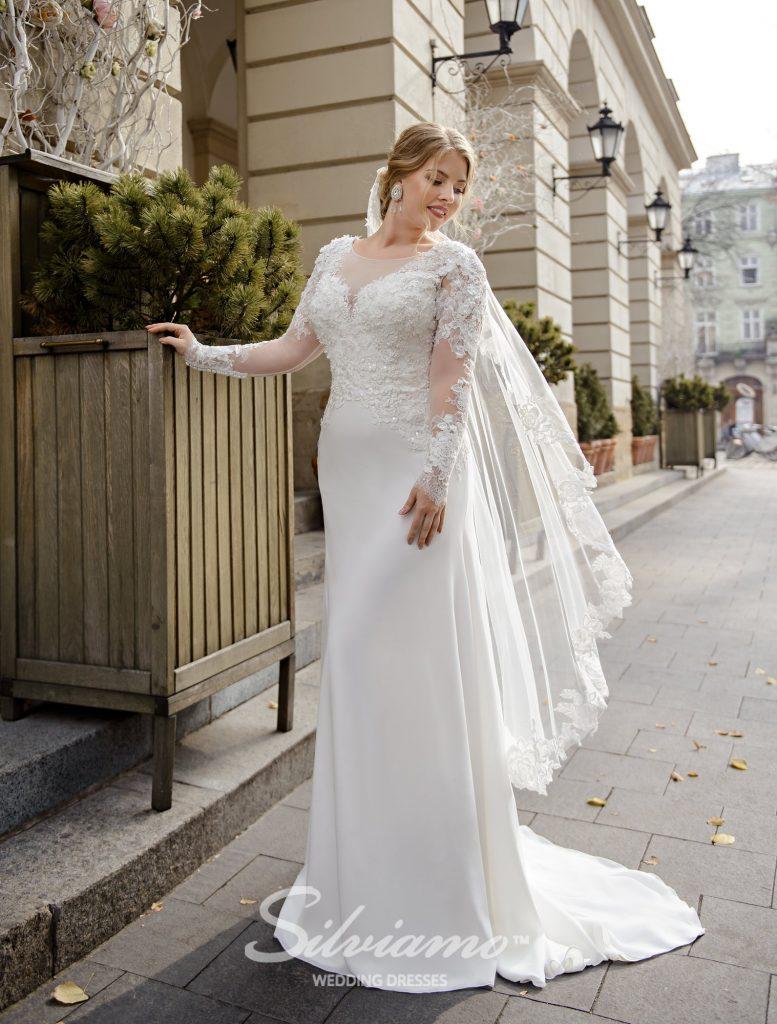 Свадебное платье в стиле годе оптом