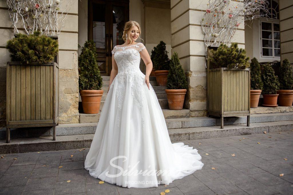 Пышное свадебное платье от производителя
